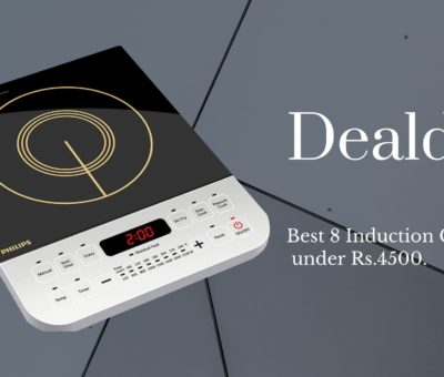 Best 8 Induction Cooktop under Rs.4500.