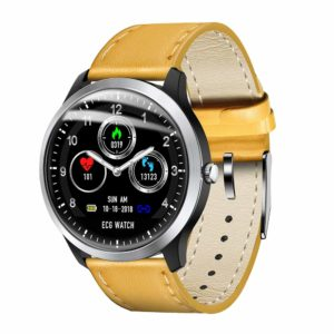 COODIO N58 Smart Watch Sports Bracelet PPG ECG HRV Report Heart Rate Blood Pressure Test Monitor Pedometer Yellow