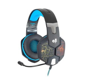 Cosmic Byte G1500 7.1 Channel USB Headset for PC with RGB LED Lights and Vibration (Black/Blue) Best 10 Gaming Headphones in 2020.