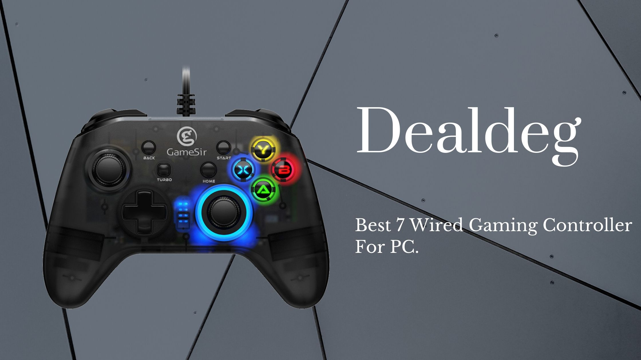 Best 7 Wired Gaming Controller For PC.