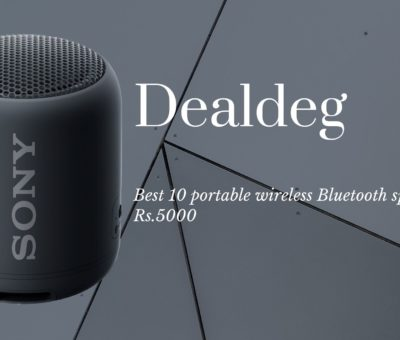 Best 10 wireless Bluetooth speaker Rs.5000