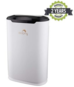 Dolphy 45W Air Purifier with HEPA Filter (White)