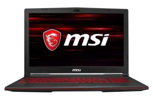 MSI GL63 9RDS-864IN Best 10 gaming laptops under Rs. 60000 In 2020