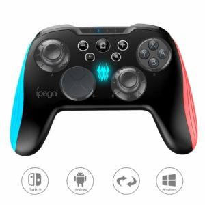 Microware IPEGA PG-9139 Wireless Controller Joystick Gamepad with 3D Interchangeable Key  Best 6 wireless Gaming Pad in India.