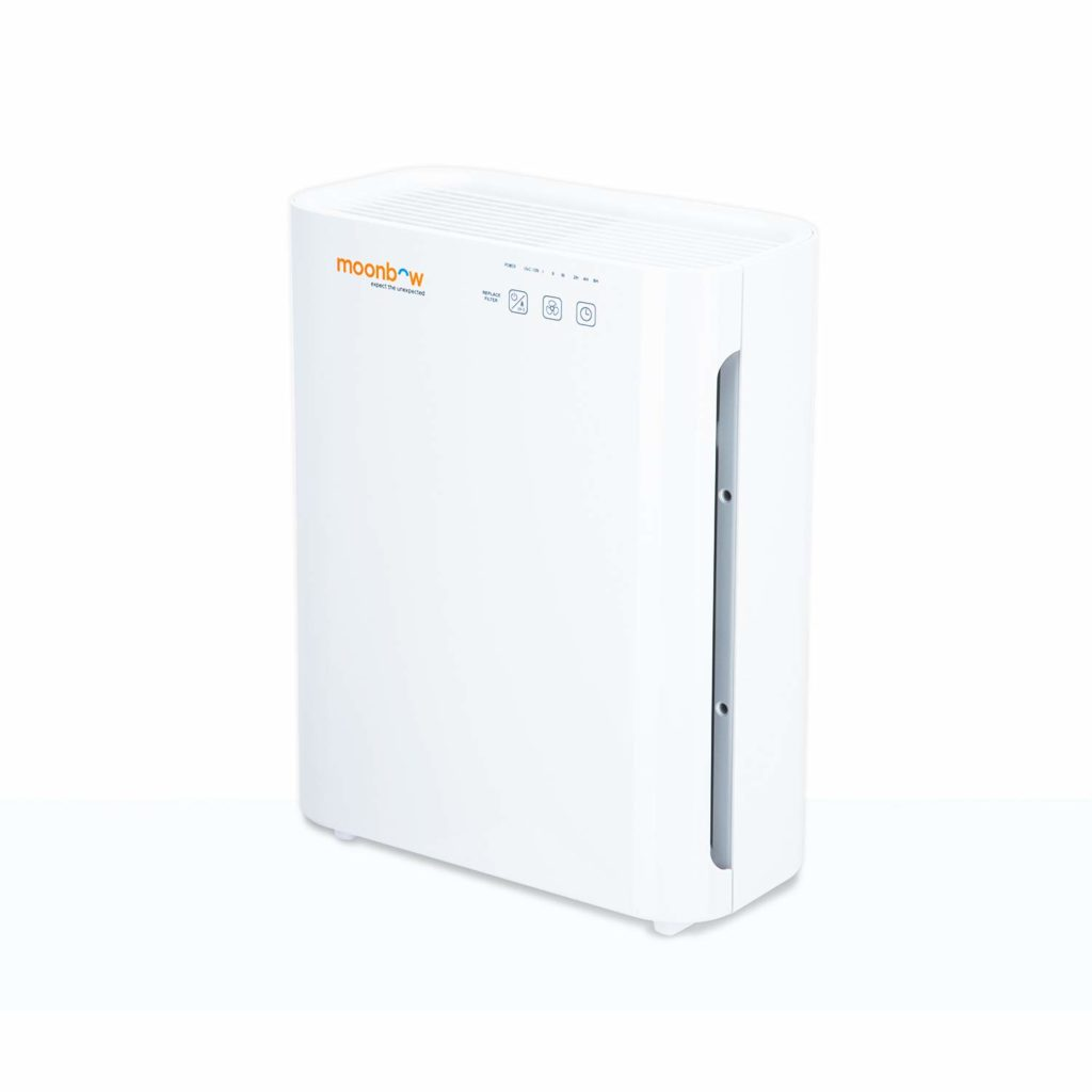 Moonbow by Hindware Moonbow AP-A8400UIN 55-Watt Air Purifier (White)