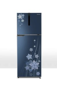 Best 10 refrigerator under Rs.30000 Panasonic 270 L 3 Star ( 2019 ) Inverter Frost-Free Double-Door Refrigerator (NR-BG271VPA3, Pointed Floral Blue)