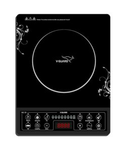 V-Guard VIC-15 2000-Watt Induction Cooktop (Black) Best 8 Induction Cooktop under Rs.4500.