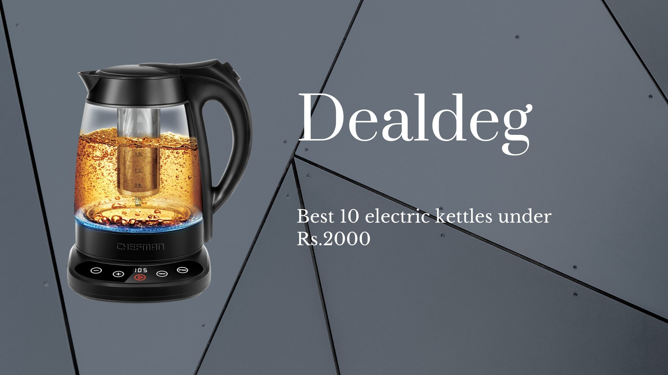 Best 10 electric kettles under Rs.2000