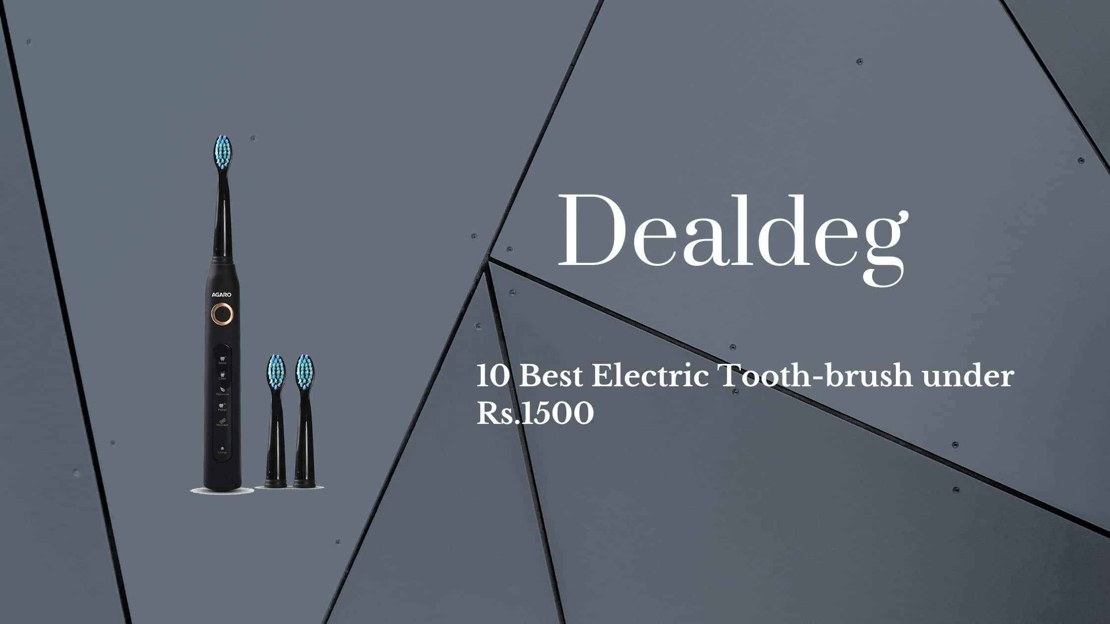 10 Best Electric Tooth-brush under Rs.1500